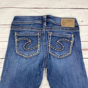 Women's Silver Size W27 Tuesday Bermuda Jeans